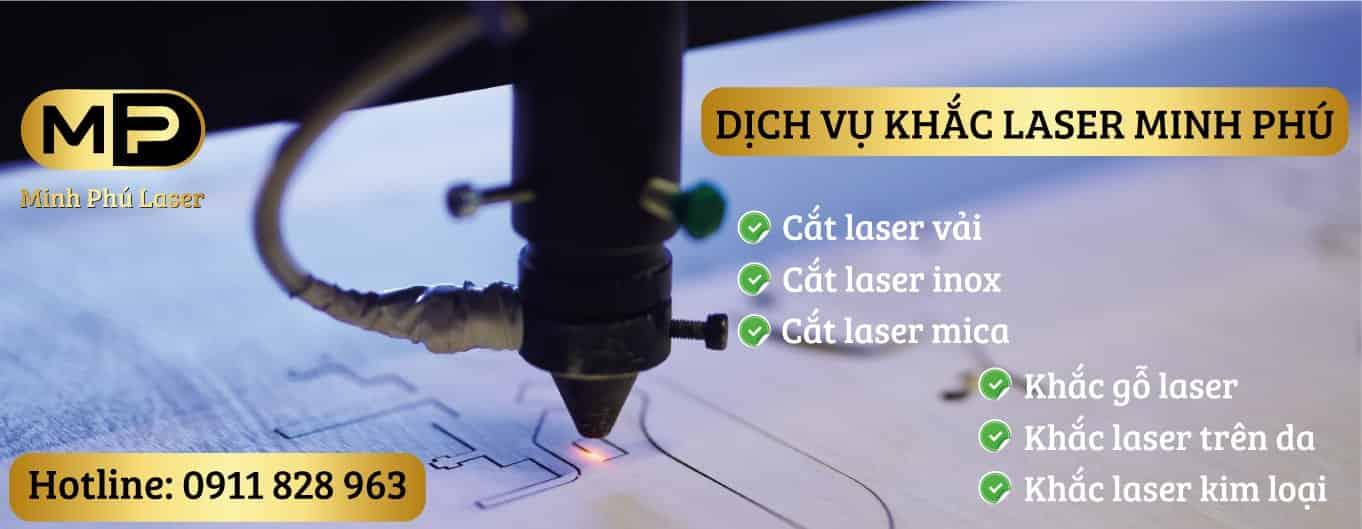 Dịch vụ cắt khắc laser Minh Phú