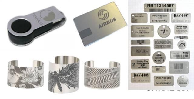 Cắt và khắc laze lên kim loại là công nghệ được áp dụng phổ biến nhất hiện nay