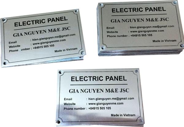 Tác dụng của tem nhãn mác kim loại