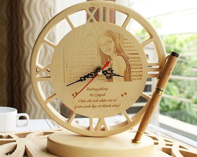 Sản phẩm khắc laser đồng hồ tại Minh Phú Laser?
