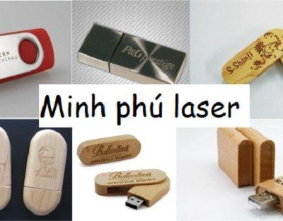 Tìm hiểu về công nghệ in khắc logo lên USB