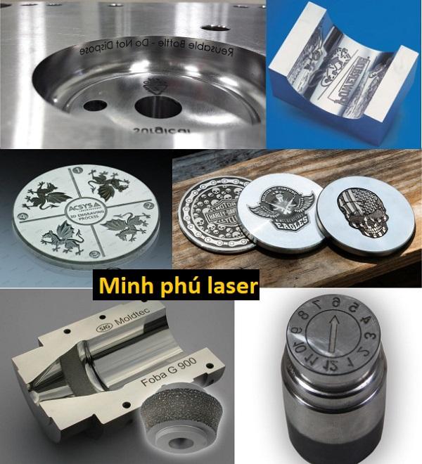 Mẫu khắc laser inox theo yêu cầu tại Hà Nội