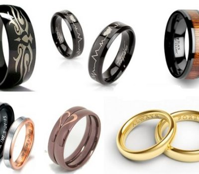 Giới thiệu các mẫu khắc laser lên nhẫn cưới, nhẫn trang trí